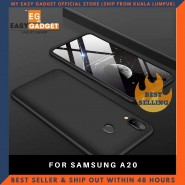SAMSUNG A20 360 FULL BODY PROTECTION CASE + TEMPERED GLASS