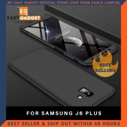 SAMSUNG J6 PLUS 360 FULL BODY PROTECTION CASE + TEMPERED GLASS