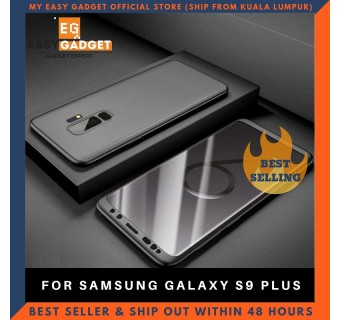 SAMSUNG GALAXY S9 PLUS 360 FULL BODY PROTECTION CASE