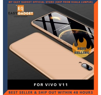 VIVO V11 360 FULL BODY PROTECTION CASE + TEMPERED GLASS