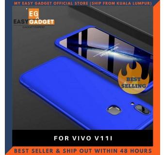 VIVO V11i 360 FULL BODY PROTECTION CASE + TEMPERED GLASS