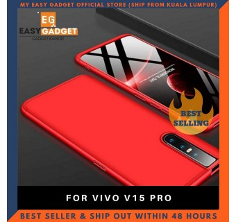 VIVO V15 PRO 360 FULL BODY PROTECTION CASE + TEMPERED GLASS