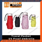 Ardeco Mini Travel Pocket UV Proof Umbrella