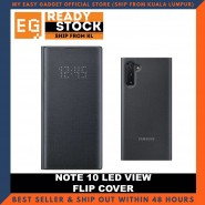 Samsung Note 10 Case LED View Flip Cover - Original Product