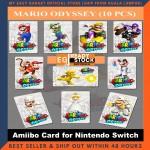 20 Pcs Mario Kart 8 / 10 Pcs Super Mario Odyssey Wedding Amxxbo NFC Tag Cards For NS Switch