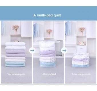 Vacuum Storage Bags Quilt Vacuum Compression Bag Suction Cotton Quilt Clothing