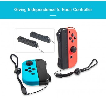 DOBE 5 in 1 Controller Connectors Pack for Switch Joy-Con - Black TNS-19021