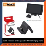 DOBE Foldable and Adjustable Mini Charging Stand for Nintendo Switch TNS-18112