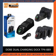 Dobe PS4 Dual Controller Charging Station Quick Charge Dualshock 4 Wireless Controller TP4-889