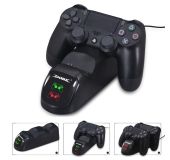 DOBE (TP4-889) Dual Charging Dock for PS4 Wireless Controller Quick Charging with LED Indicator Light