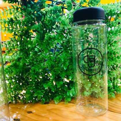 500ML Botol Air Plastic Water Bottle Portable Transparent Sport Leaking-proof Travel Cup DY Fruits