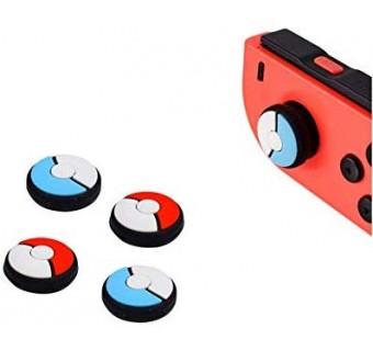 Silicone Analog Pokeball Theme Thumb Grips Cap for Nintendo Switch
