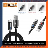 Mcdodo CA-6190 Smart Series Auto Disconnect & Recharge Type-C Cable - 1 Meter