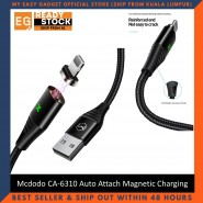 Mcdodo CA-6310 Storm Series Auto Attach Magnetic Charging Data Cable Lightning