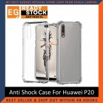 Huawei P20 / P20 Pro / P20 Lite Anti Shock bumper case TPU Transparent Shockproof Full Protection Clear Cover