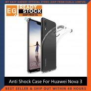 Huawei Nova 3 / Nova3i / Nova 3E Anti Shock bumper case TPU Transparent Shockproof Full Protection Clear Cover