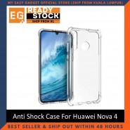 Huawei Nova 4 / Nova 4E Anti Shock bumper case TPU Transparent Shockproof Full Protection Clear Cover