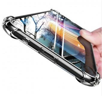Huawei Nova 5T / Nova 5i Anti Shock bumper case TPU Transparent Shockproof Full Protection Clear Cover