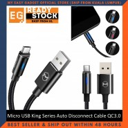 Mcdodo CA-6160 Micro USB King Series Auto Disconnect Cable 1 Meter QC3.0