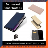 Huawei Honor Note 10 Case Flip Cover Dux Ducis Skin Pro Luxury Genuine Leather Magnetic Flip Cover Full Protective Casing