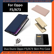 Oppo F5 / A73 Case Flip Cover Dux Ducis Skin Pro Luxury Genuine Leather Magnetic Flip Cover Full Protective Casing