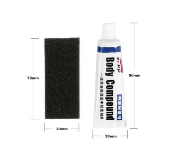 Car Scratch Repair Kits Auto Body Compound Polishing Scratches Remover / SUPER Absorbent Microfiber Cleaning Cloth Towel