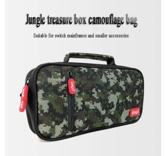 Ipega Camouflage Bag NS Multi-Function Shoulder Portable Storage Bag Carrying Case For Nintendo Switch / Lite PG-9185