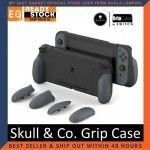 Skull & Co. Grip Case Set: Ergonomic Grip Protective Case for Nintendo Switch
