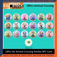 Zelda Smash Bros Mario Splatoon Kirby Animal Crossing Series NFC PVC TAG Card AMIIBO Nintendo Switch / Switch Lite WII U