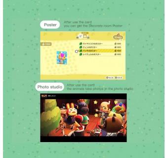 Zelda Smash Bros Mario Splatoon Kirby Animal Crossing Series NFC PVC TAG Card AMIIBO Nintendo Switch / Switch Lite WII U