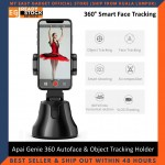 [Ready Stock] Apai Genie 360 Rotation Autoface & Object Tracking Holder smart shooting camera phone (Ship From Malaysia)
