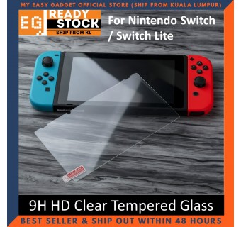 OIVO LCD Protective Film 9H HD Tempered Glass Screen Protector For Nintendo Switch
