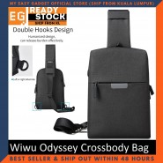 Wiwu Odyssey Crossbody Bag Waterproof Nylon Bags Single Shoulder Strap GM1831