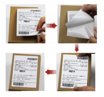 350pcs Direct Thermal Shipping Label Sticker 100x150mm A6 10x15cm 4x6 Inch Thermal Paper Awb Consignment Note