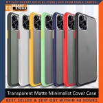 iPhone 11 Pro Case Matte Minimalist Cover iPhone Shockproof Translucent Casing