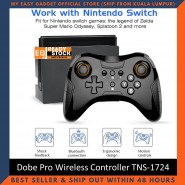 Dobe Pro Wireless Controller Bluetooth Wireless Game Controller Game Pad For Nintendo Switch Pro NS Game Console TNS-1724
