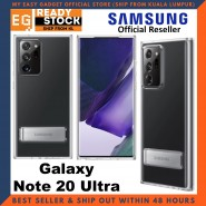 Original Samsung Galaxy Note 20 Ultra JDM Clear Standing Cover Case Samsung Note 20 Ultra Case