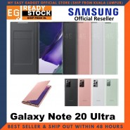 Original Samsung Galaxy Note 20 Ultra LED View Cover Case LED Wallet Cove Samsung Note 20 Ultra Case
