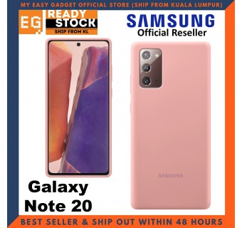 Original Samsung Galaxy Note 20 Silicone Cover Case Samsung Note 20 Case
