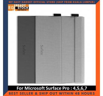 Mcdodo Microsoft Surface Pro 7 6 5 4 PU Leather Folding Folio Stand Protective Case Cove Tempered Glass