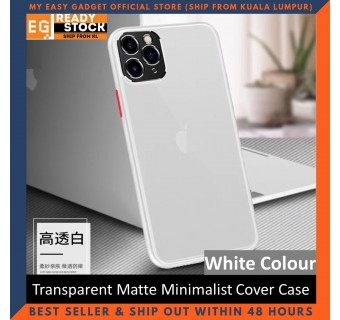 iPhone SE2 SE 2020 / iPhone 8 Case Matte Minimalist Cover iPhone Shockproof Translucent Casing