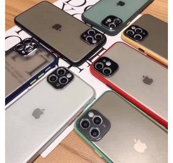 iPhone 11 Pro Case Matte Minimalist Cover iPhone Shockproof Translucent Casing