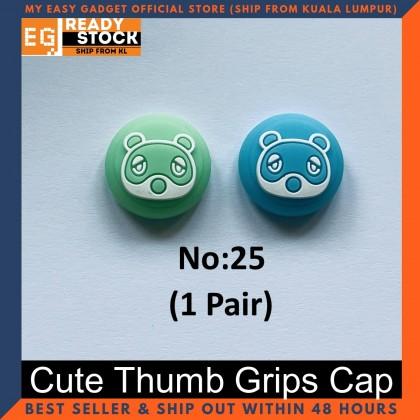 Nintendo Switch Thump Grip Cute Pokeball Smash Bros Animal Crossing Switch Lite Analog Cap for Joy-con (1 Pair)