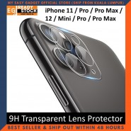 iPhone 12 Pro Max iPhone 11 Pro Max 12 Mini Series 9H Transparent Camera Lens Screen Protector