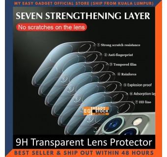 iPhone 12 Pro Max iPhone 11 Pro Max 12 Mini Series 9H Transparent Camera Lens Screen Protector