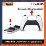 DOBE PS5 Controller Charging Dock Gamepad Fast Charge Docking Dual Port Type C Playstation 5 TP5-0506 TP5-0505 TP5-0504