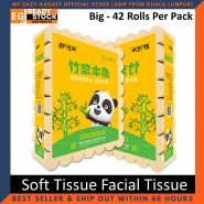 Shukele Cute Panda Soft Tissue Facial Tissue Bamboo Pulp Tissue Packet