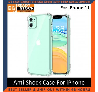 iPhone 12 Pro Max iPhone 11 Pro Max 12 Mini Anti Shock Bumper Case TPU Transparent Shockproof Full Protection Clear Cover