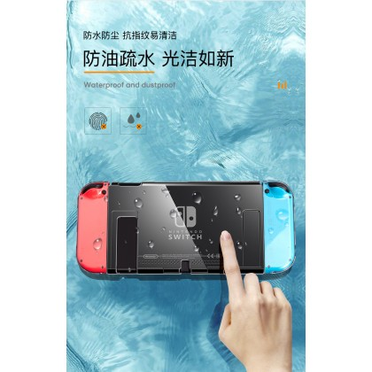 Clear Transparent Crystal Hard / Soft Protective Case Dockable Case Cover for Nintendo Switch / Lite Console