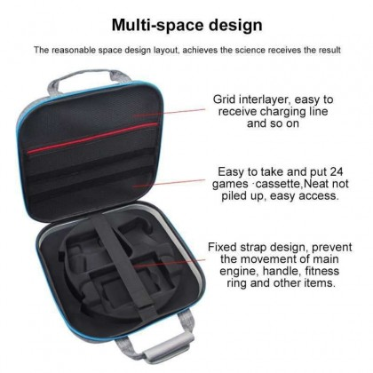 Hard Shell Carry Travel Storage Bag for Nintendo Switch Ring Fit Adventure Compatible with Dock and Switch Accessories